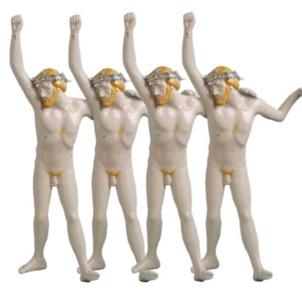 時計じかけのオレンジ MLE Christ Unlimited メディコムトイ MEDICOM TOY LIFE ENTERTAINMENT スタンリーキューブリック 映画 グッズの画像