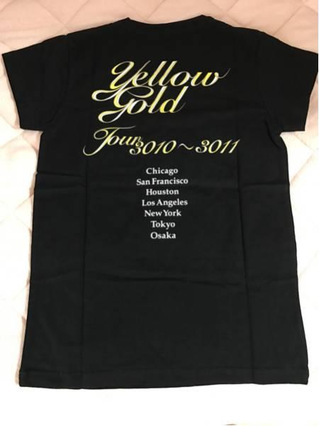 【新品】赤西仁 2011年 yellow gold ツアーグッズ Tシャツ ライブグッズの画像