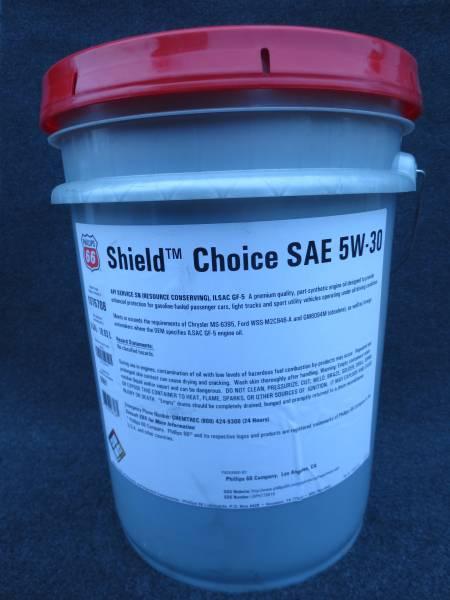 PHILLIPS 66 シールドチョイス SN SAE 5W-30ペール缶正規品!新品即決送料無料!_画像2
