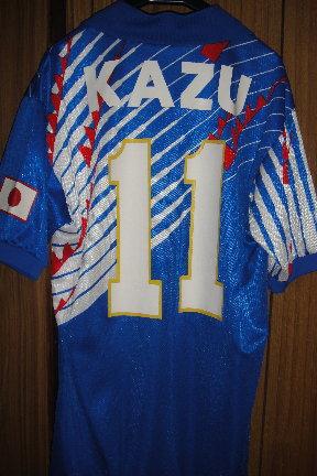 1993年日本代表ドーハ時代 カズ選手用   KAZU ヴィンテージ