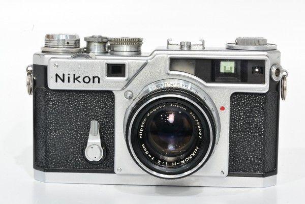 Nikon ニコン SP 621万台+NIKKOR-H F2 f=5cm 前期 布幕 レンジファインダー フィルム 稀少 最高6級機 送料無料 1円オークション