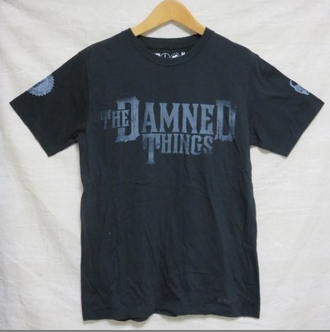 CREATURE FROM THE LIVING Tシャツ 黒 THE DAMNED THING c.f.t.l raleigh MADTOYZ ZIGGY C33