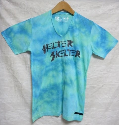 CREATURE FROM THE LIVING Tシャツ ダイダイ染め HELTER SKELTER c.f.t.l raleigh MADTOYZ ZIGGY C19
