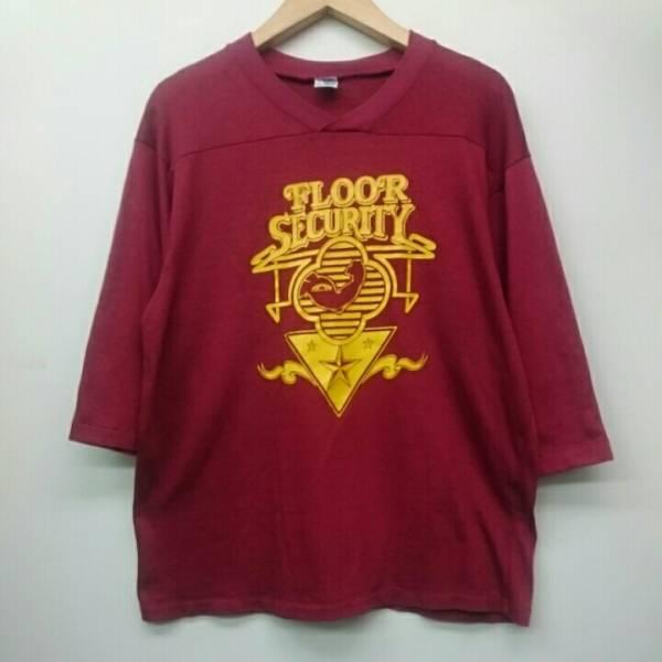 90年代 ERIC CLAPTON エリッククラプトン TOUR 1990 ARTEX MADE IN USA フットボールTシャツ XLサイズ イングランド ミュージシャン  ライブグッズの画像
