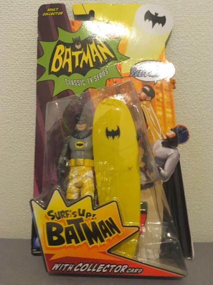 バットマン クラシック TV シリーズ 6インチ アクションフィギュア/サーフ・アップ バットマン グッズの画像