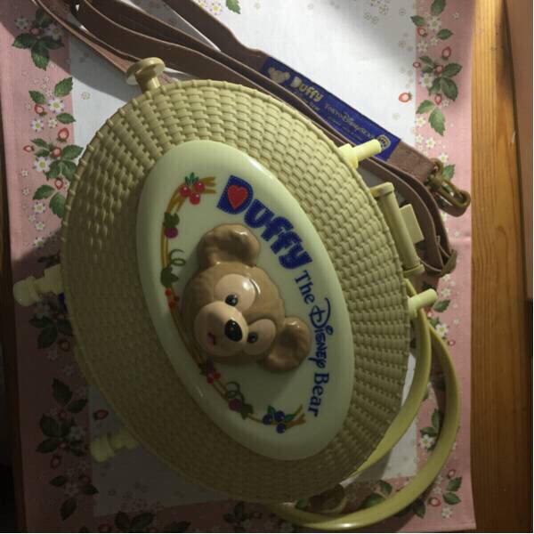 ダッフィーポップコーンバケット ディズニーグッズの画像