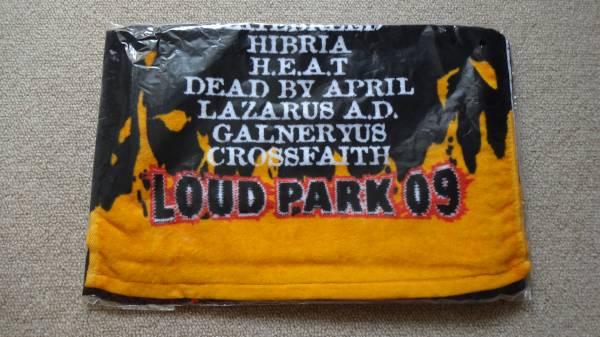 LOUD PARK 09 タオル 新品未開封 ラウドパーク 2009