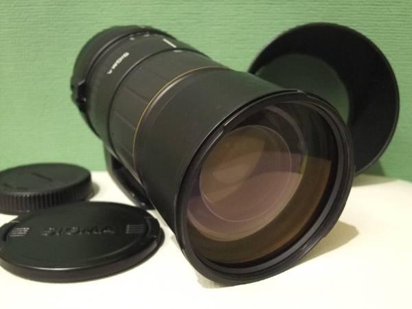 ●キヤノン用 シグマ 135-400mm F4.5-5.6 APO CANON 超望遠 フルサイズ ズームレンズ 難あり●