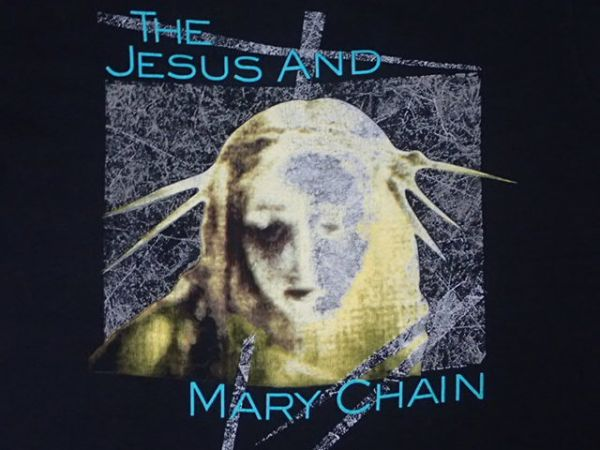 【 90S THE JESUS AND MARY CHAIN 】 ヴィンテージ Tシャツ 黒 XL シングルステッチ / ジザメリ Bauhaus siouxie & the banshees