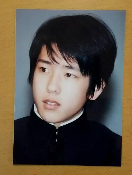 嵐 二宮和也 ☆ レア Jr. あぶない放課後 制服 ☆ ファミクラ 公式写真 ②