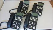 動作品 NEC DT300 Series DTL-24d-1D(BK)TEL 4台セット