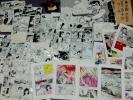 簽名, 簽名版 - 谷ゆきお ◆直筆肉筆 貸本漫画 原画 「歩く石像」 71枚一括◆東京トップ社◆少女スリラー C級怪奇漫画の異能◆『おとこ足の少女』