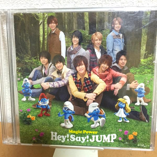 【激レア】【美品】Hey!Say!JUMP Magic Power初回限定盤1、DVD付き
