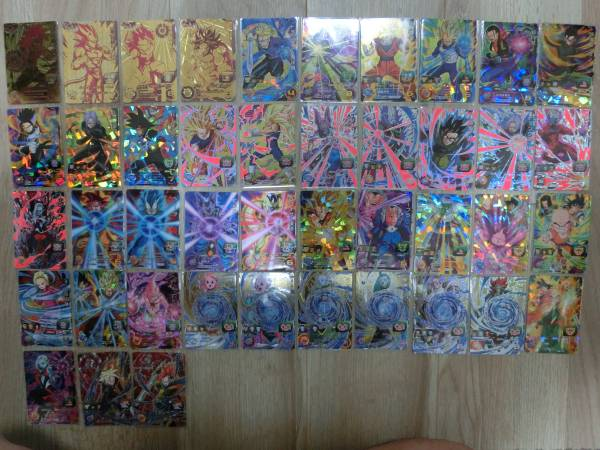 【激レア即決】 ドラゴンボールヒーローズ スーパー カード キラ レア SR CP GDM 143枚_画像3