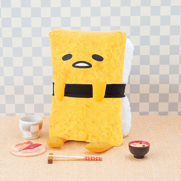 送料込★ ぐでたま たまご寿司BIGぬいぐるみ グッズの画像