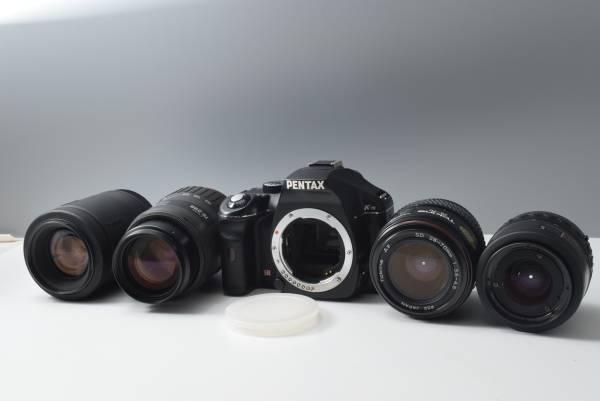 PENTAX K-m+レンズ4本 ペンタックス