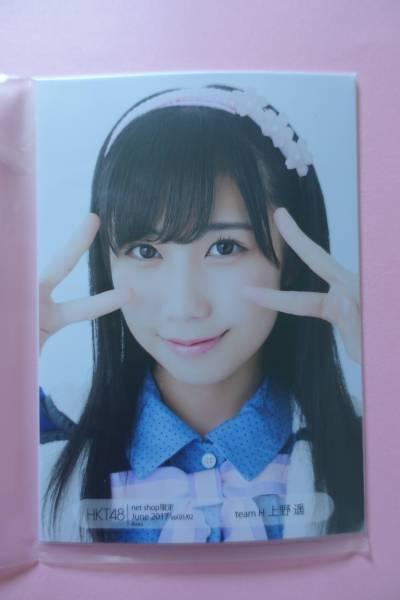 AKB48 HKT48 個別生写真5枚セット 2017 June 上野遥 ライブ・総選挙グッズの画像
