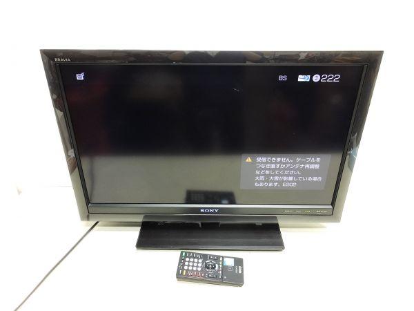 SONY ソニー 液晶テレビ BRAVIA ブラビア KDL-32F5 2010年製 FT14627_画像1