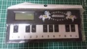 SWIMMER スイマー ピアノ電卓 ピアノ機能あり 黒 新