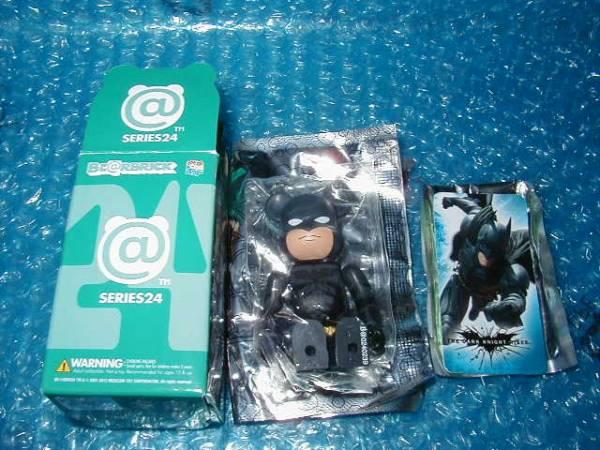 ◎ベアブリック シリーズ24 HERO「バットマン」内袋未開封 グッズの画像