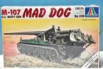 195 未開封 イタレリ 1/35 M-107 U.S. HEAVY GUN MAD DOG