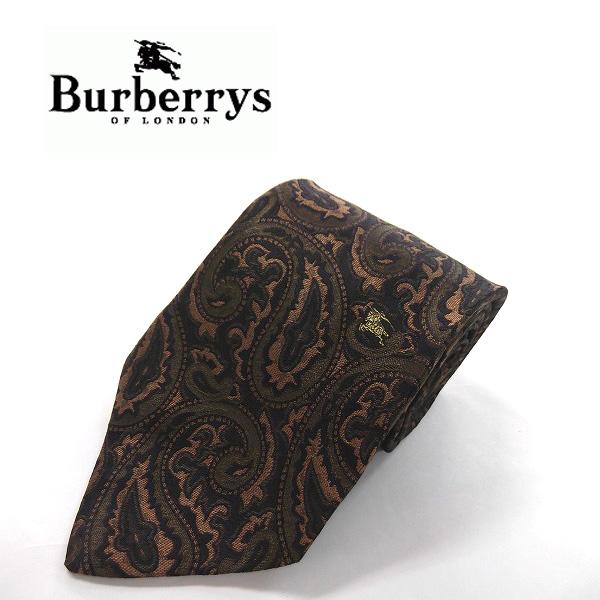 ●Burberrys/バーバリーズ●高級ネクタイ ペイズリー柄[KX3046