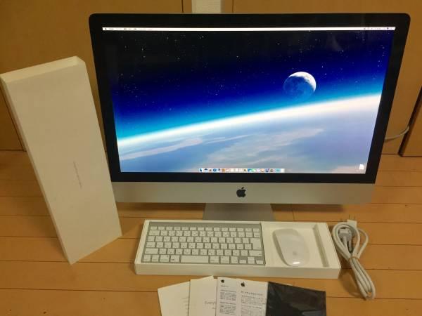 プロ仕様 極上美品級// iMac A1312 i7 2.93/ 27inch /2TB新品 /Waves V9最新 / Office201