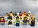 ☆女性☆ レゴ ミニフィグ 大量20体 女の子 ドレス 髪の毛 被り物 LEGO 人形 シティ クリエイター