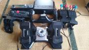 【ジャンク扱い】Saitek フライトコントローラー一式【フライトシミュレーター】