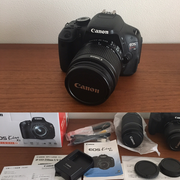 canon eos kiss X5 望遠レンズセット 付属品付き