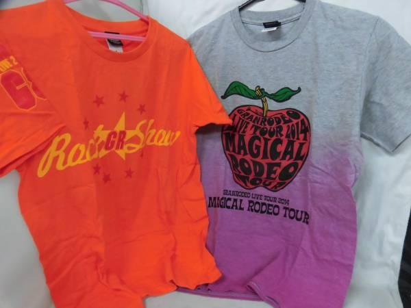 ⑥★グランロデオ・GRANRODEO・Tシャツ、缶バッジなど7点セット ライブグッズの画像