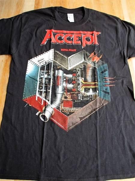 ACCEPT Tシャツ metal heart 黒M / judas priest iron maiden metallica