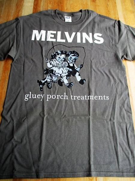 MELVINS Tシャツ Gluey Porch Treatments グレーM / メルヴィンズ sleep high on fire fu manchu pearl jam nirvana
