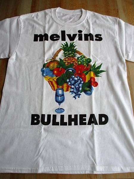 MELVINS Tシャツ bullhead 白M メルヴィンズ / sleep high on fire fu manchu pearl jam nirvana