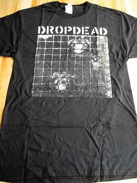 DROPDEAD Tシャツ unjustified murder 黒M バックプリントあり / los crudos mk ultra charles bronson no comment spazz siege