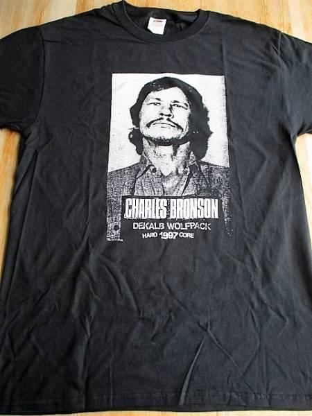 CHARLES BRONSON Tシャツ hardcore 1997 黒M / los crudos mk ultra dropdead no comment spazz siege