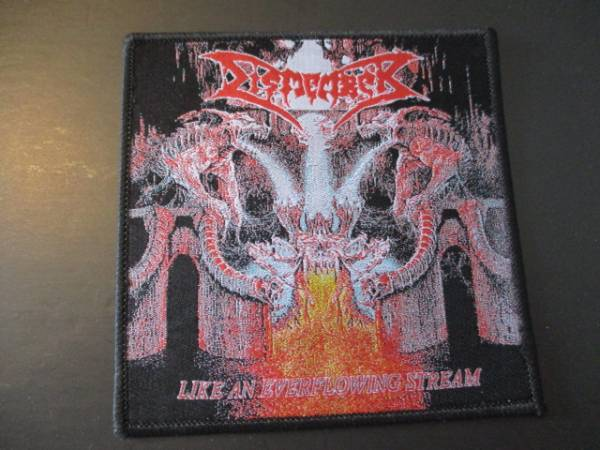 DISMEMBER 刺繍パッチ ワッペン Like an Everflowing Stream / slayer sodom possessed asphyx autopsy exhumed nihilist grave