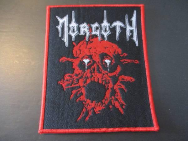 MORGOTH 刺繍パッチ ワッペン Resurrection Absurd / slayer sodom possessed death asphyx autopsy exhumed nihilist grave
