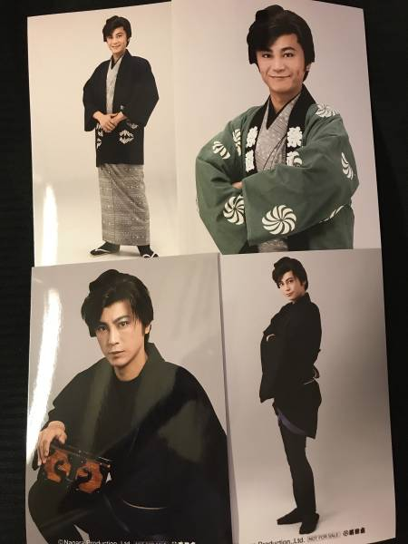 氷川きよし明治座 生写真 4枚セット コンサートグッズの画像