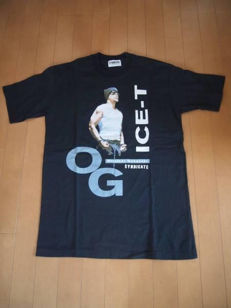 ICE-T(アイスT) SYNDICATE Tシャツ 20年以上の当時物!