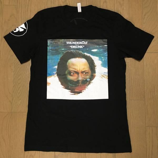 "THUNDERCATサンダーキャット""DRNK""BRAINFEEDERオフィシャルTシャツ(FujiRockFestival2017KendrickLamarKamasiWashingtonFlyingLotus)"