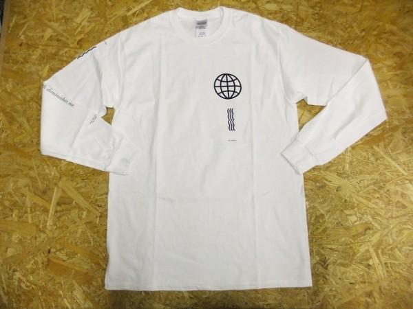 レコードレーベル POSH ISOLATION コペンハーゲンクルー LUST FOR YOUTH 胸ロゴ 長袖Tシャツ ロンT 白 M