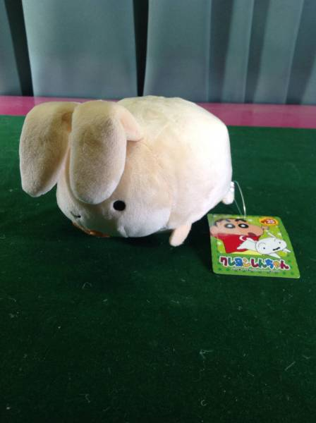 クレヨンしんちゃん ぺたんこ クリーナー ぬいぐるみ ネネちゃんのウサギ 25周年 記念 非売品 グッズの画像