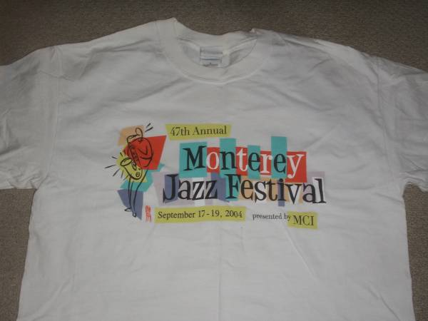 MONTEREY JAZZ FESTIVAL 2004 Tシャツ GLASTONBURY フジロック サマソニ ライブグッズの画像