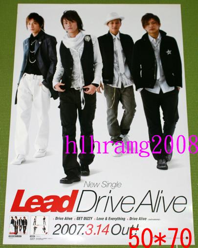 Lead Drive Alive 告知ポスター