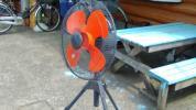 45cm 100V用 大型工業用扇風機  中古美品