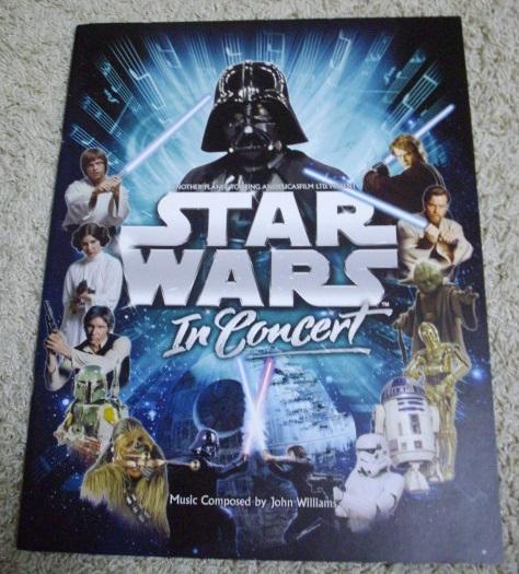 【大型コンサート・パンフレット】スター・ウォーズ・イン・コンサート STAR WARS In Concert John Williams
