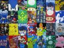 America import * Japan anime / game character T-shirt 28 pieces set * old clothes . Pokemon Dragon Ball super Mario nintendo SEGA No.O-6