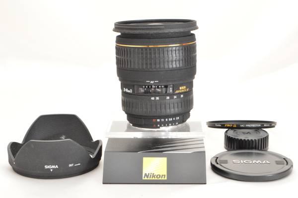 F09★大特価★シグマ SIGMA AF 20-40mm D F2.8 EX DG ASPHERICAL IF Nikon ニコン用 【フルサイズ対応/明るい広角ズームレンズ】#842-12k