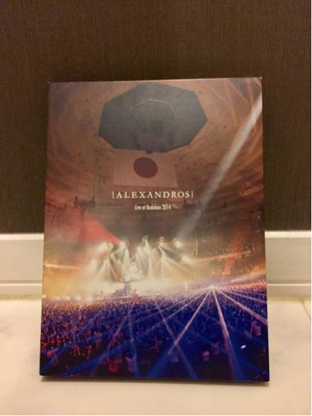 [Alexandros] live at budokan 2014 初回限定盤 ライブグッズの画像